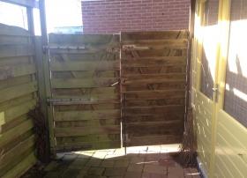 Oude poortdeur